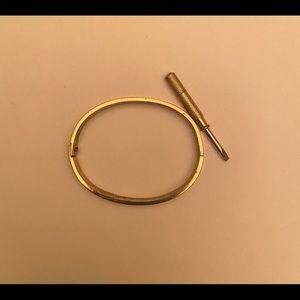 Charles Revse x Cartier love bracelet